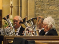 Holymoorside Brass Band - Interior 10 of Old Brampton Church
